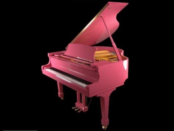 Piano Colin Rosa, Marca Propia 160cm.