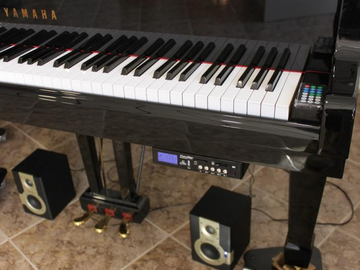 VENDIDO Piano cola SANDNER 186cm con Sistema Player  PIANO DISC GERMANY.