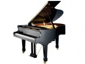 VENDIDO. Piano cola SANDNER 186cm con Sistema Player PIANO DISC GERMANY